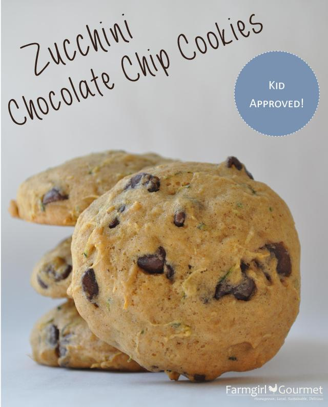 Zucchini chocolate chip cookies farmgirl gourmet for Better homes and gardens chocolate chip cookies