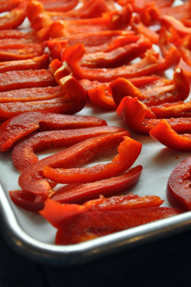 Freezing Red Peppers via farmgirlgourmet.com