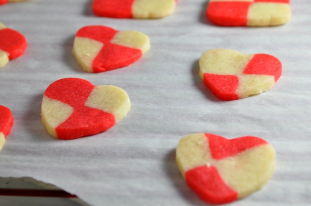Valentine Checkerboard Cookies - via farmgirlgourmet.com
