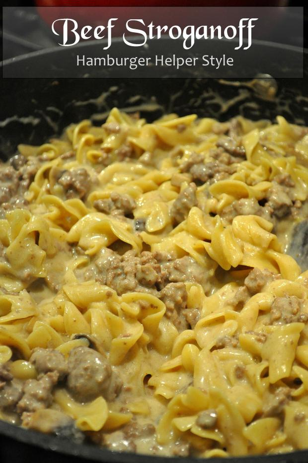 Beef Stroganoff via farmgirlgourmet.com
