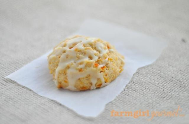 Brown Butter Carrot Cookies FarmgirlGourmet.com