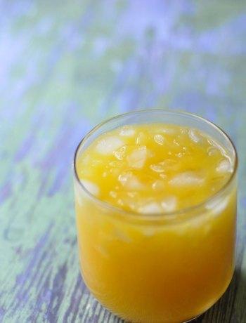 Mango Orange Agua Fresca   farmgirlgourmet.com