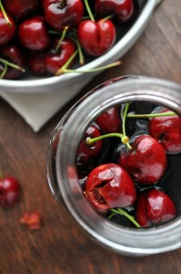 Black Cherry Bourbon Soda | farmgirlgourmet.com