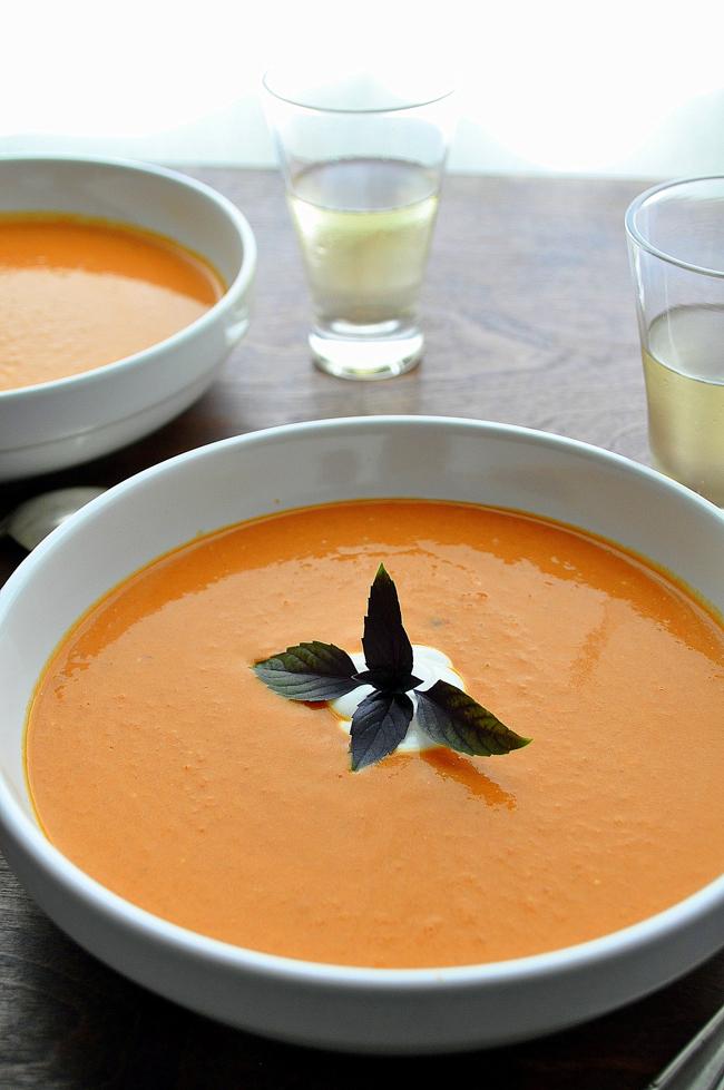 Chipotle Creamy Tomato Soup | Farmgirl Gourmet