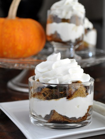 Pumpkin Tiramisu | farmgirlgourmet.com #lowsugar #healthierholidays #thanksgiving