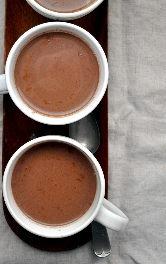Aztec Kahlua Hot Cocoa