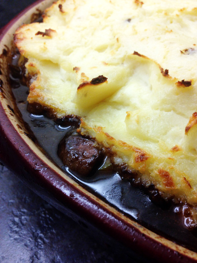 Easy Stout Shepherd's Pie