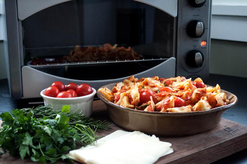 Herby Tortellini Bake | farmgirlgourmet.com
