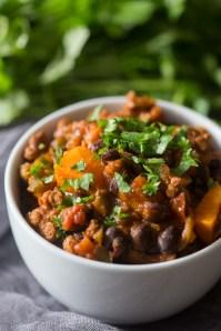 Chorizo Sweet Potato Chili