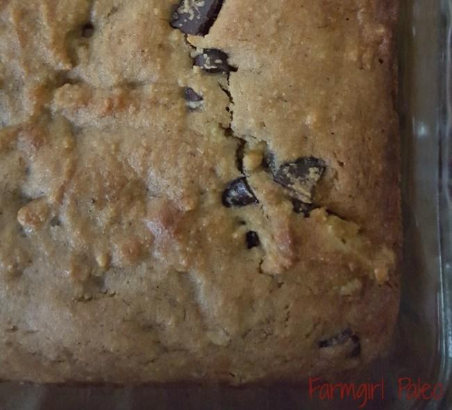 Paleo Chocolate Chip Banana Cake