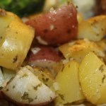 Red and Gold Ranch Potatoes