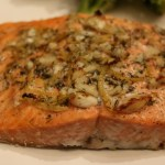 Zesty Garlic Salmon