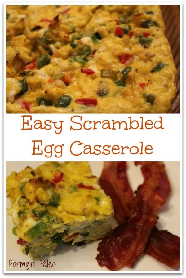 Easy Scrambled Egg Casserole