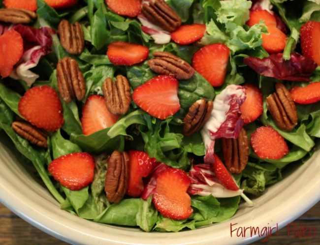 Very Berry Pecan Salad