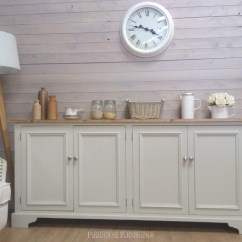Shabby Chic Kitchen Cabinets Gray Towels Welsh Sideboard For Sale, Solid Pine 6ft ...