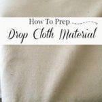 Prep Drop Cloth – 101