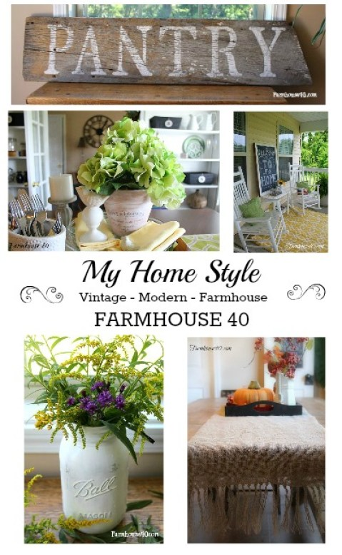 collage of home decor from farmhouse 40