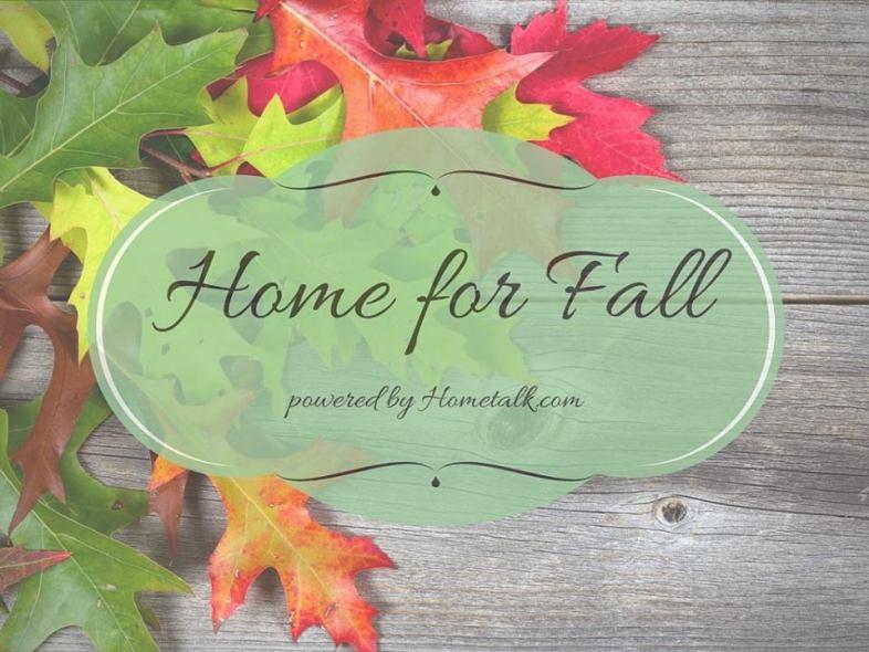 HOME FOR FALL BLOG HOP HOMETALK