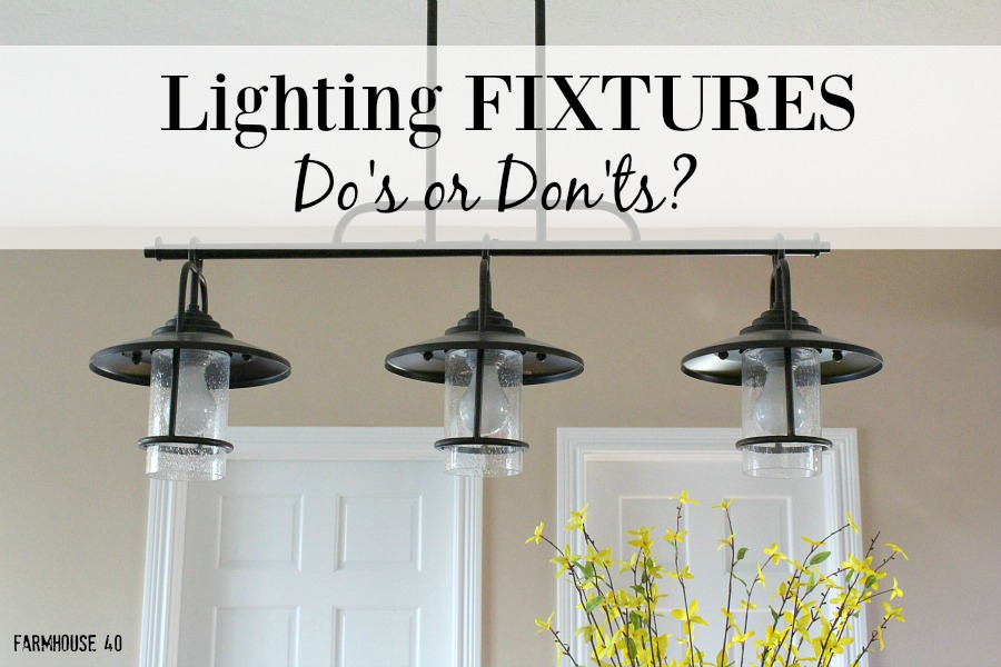 farmhouse kitchen lighting dos and donts - Farmhouse Kitchen Lighting