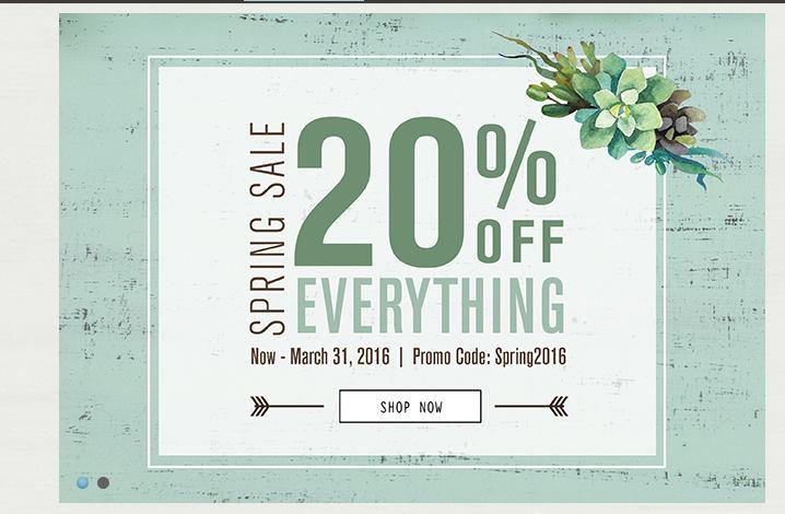Walnut Hollow spring sale