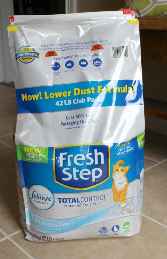 fresh step with febreze 4375