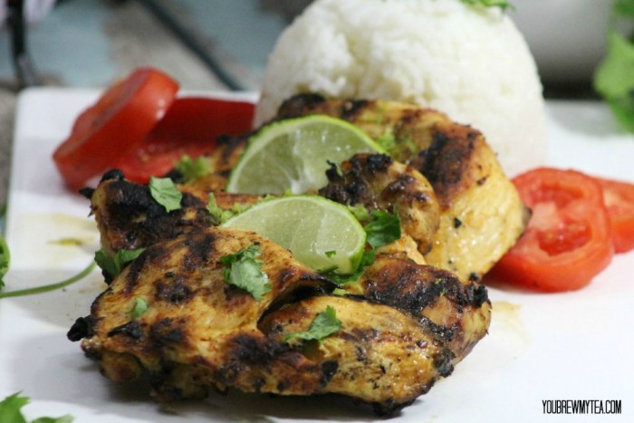 grilled lime tequila chicken