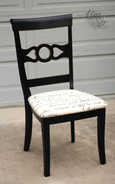 repainted-desk-chair-with-gold-and-black