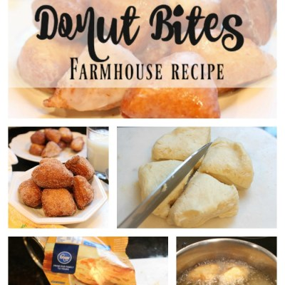 Easy Donut Bites Recipe