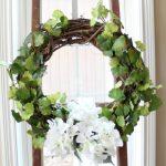 DIY Spring Wreath Hydrangea & Vines