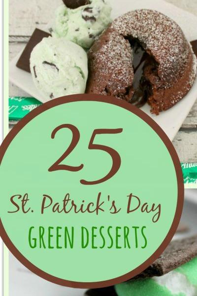 st patrick desserts
