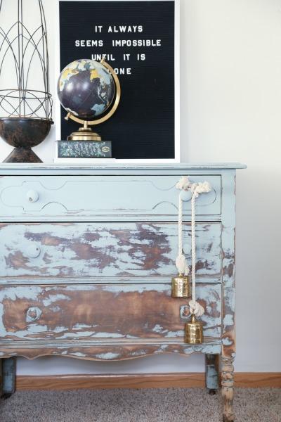 balayage painted furniture