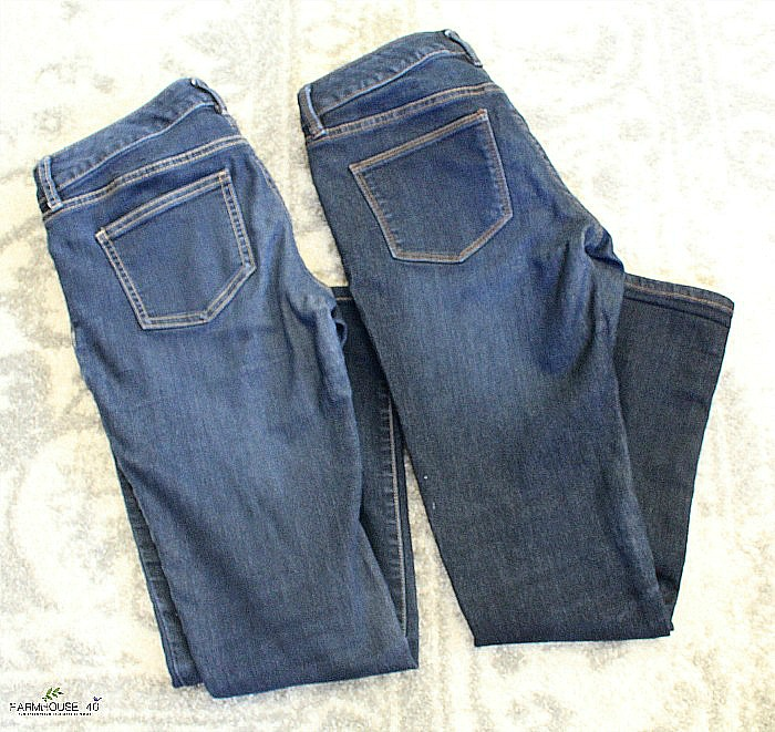 brilliant trick faded jeans look like new