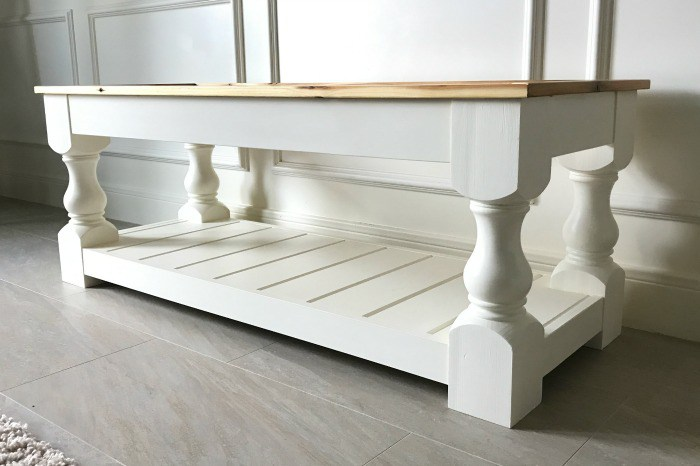 how to build an bench