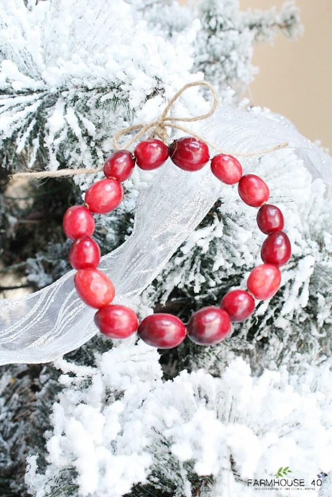 diy-cranberry-wreath