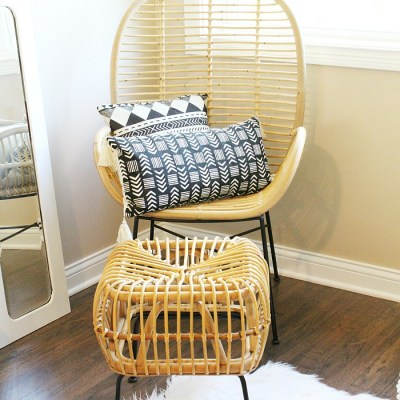 Loft Guest Bedroom Simple Decor