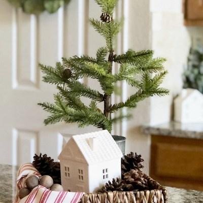 Christmas Kitchen Island