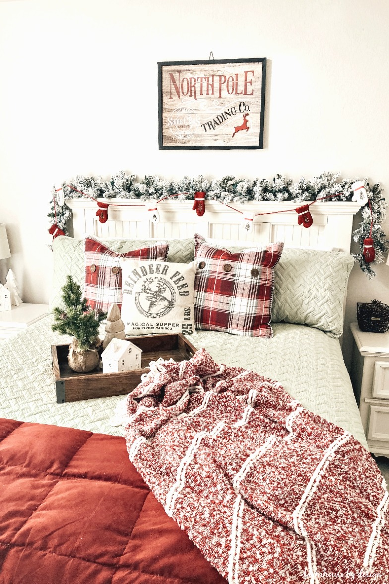 Christmas Guest Bed