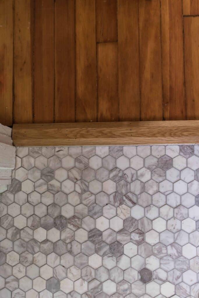 new marble tile floor farmhouse