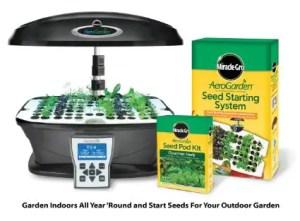 Aerogarden hydroponics indoor kit