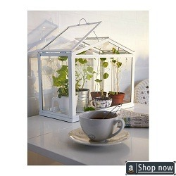 Homegrown Indoor Grow Kit · Small White Greenhouse By Ikea