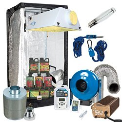 Complete Grow Tent Package with Filter and Fan