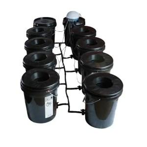 Deep Water Culture (DWC) Hydroponic Bubbler Bucket Kit