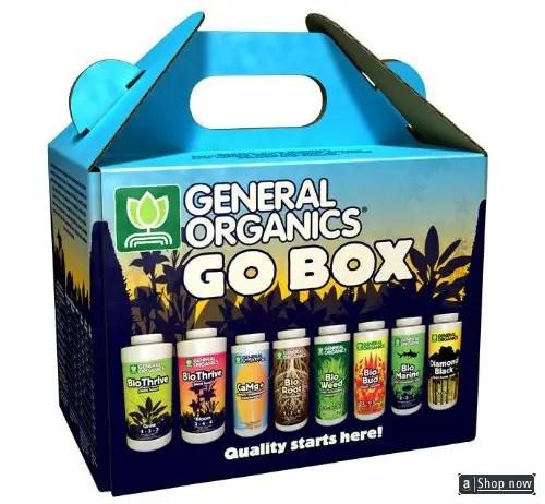 Hydroponics Go Box Starter Kit - Organic Fertilizer