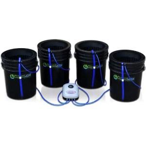 Hydroponic Bubbler Kit 4 Bucket