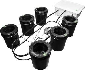 Bubbleflow Bucket Hydroponic kit