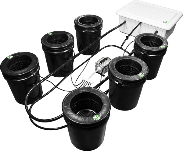 Bubbleflow Bucket Hydroponic kit
