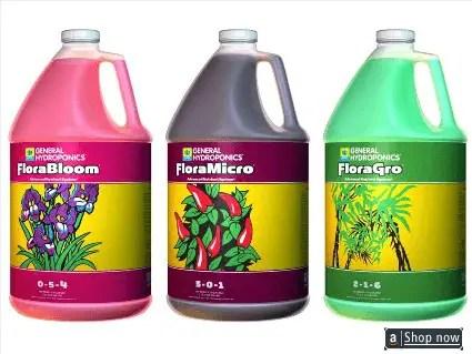 Hydro Flora Series 3 gallon