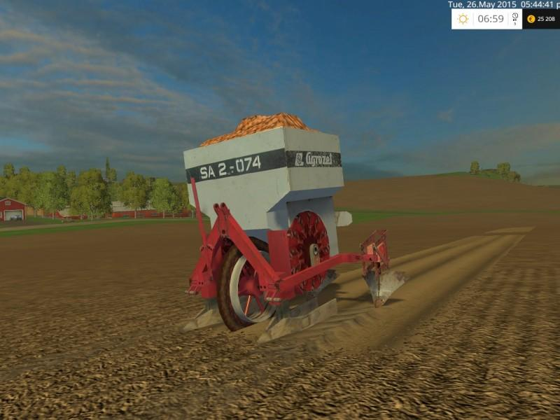 Farming Simulator 2017 Case Planter