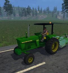 john deere 4020 tractor diesel [ 1280 x 720 Pixel ]