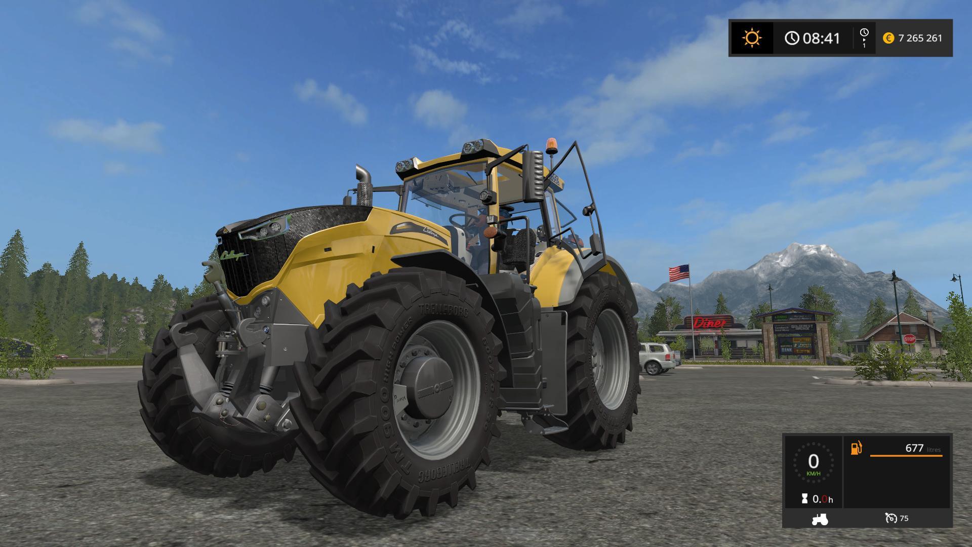 FS17 CHALLENGER 1000 BY STEPH33 V10  Farming simulator
